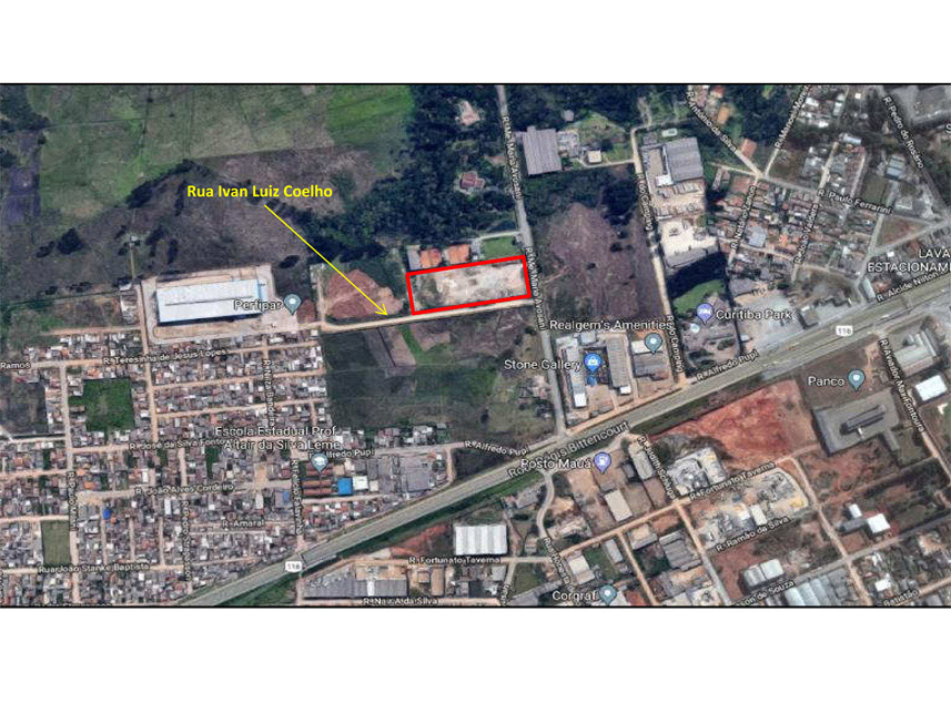 Lote 017 - Imóvel Industrial - Colombo/PR - Rua Madre Maria Avosani, 299 - lote A 4-1 - Palmital - CEP: 83413-120 - Foto 5